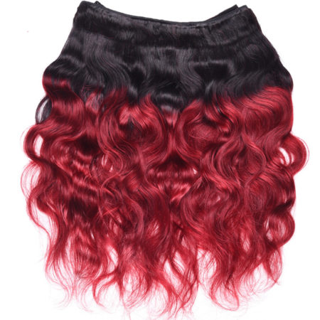 2-Tone-Color-Indian-Ombre-Body-Wave-Hair-4-Bundles-T1B-Burgundy-Human-Hair (1)