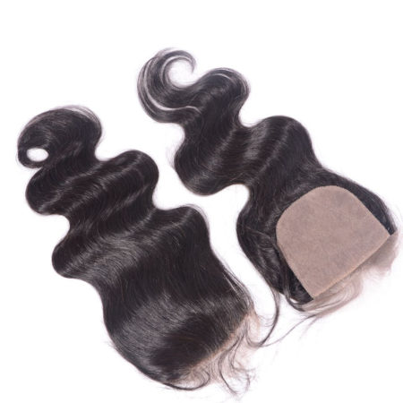 Brazilian Body Wave 5x5 Silk Base Lace Closure With Baby Hair Bleached Knots (2)