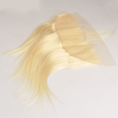 Peruvian Straight Hair 613 Blonde Lace 13x4 Frontal Closure (1)