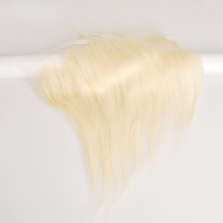 Peruvian Straight Hair 613 Blonde Lace 13x4 Frontal Closure (5)