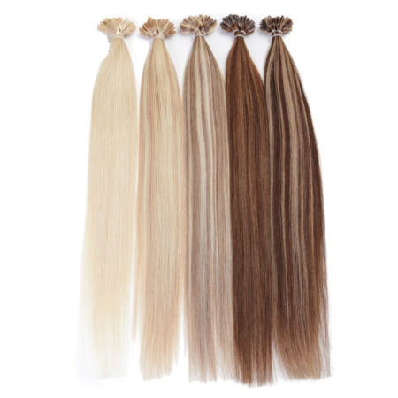 Remy Human Straight Fusion U Tip Machine Made Pre Bonded Hair Extension 50g (6)