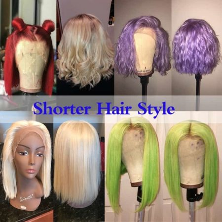 Best Blonde Lace Front Wigs 180% Density Silky Straight Brazilian Hair (4)
