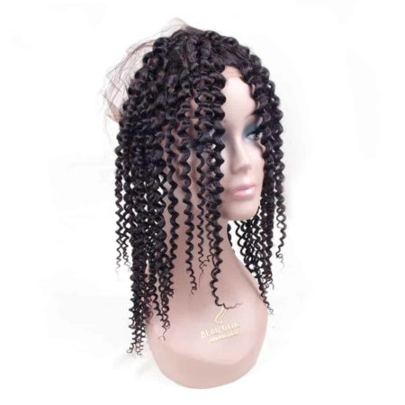 Brazilian Curly 360 Lace Frontal with Baby 100% Human Hair Free Part (4)