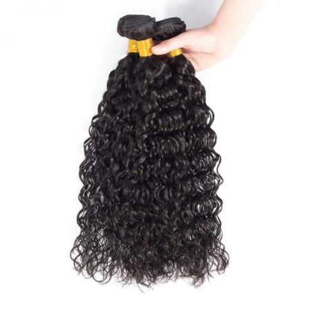 Brazilian Natural Wave Hair 2 or 3 or 4 Bundles With Free Part Ear To Ear Lace Frontal Closure (1)