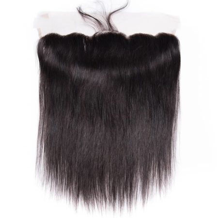 Free Part Malaysian Straight Ear to Ear Lace Frontal Closure Hair With Baby Hair Pre Plucked (2)