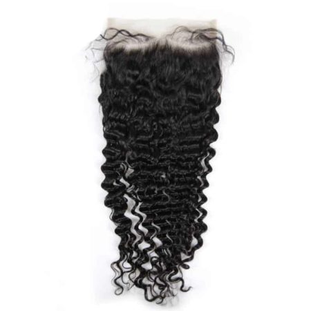 Human Brazilian 7x7 Deep Wave Free Part Lace Closure (3)
