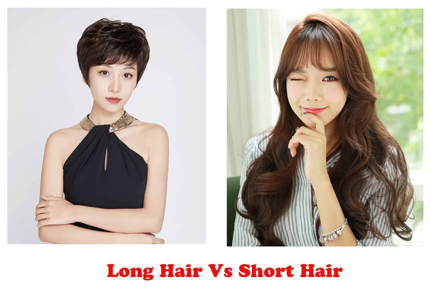 Long Hair Vs Short Hair: The Different Long and Short Hairstyles