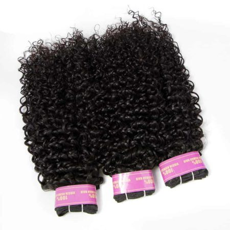 Malaysian Remy Human Curly Hair Weave 3 Bundles With Lace Closure (4)