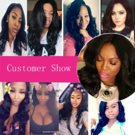 Peruvian Body Wave 2 Bundles With 360 Frontal Pre Plucked Remy Human Hair (3)