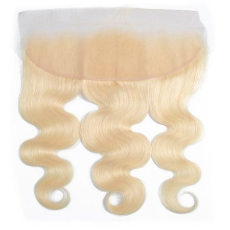 Peruvian Body Wave 613 Blonde Hair 13X4 Lace Frontal Closure (3)