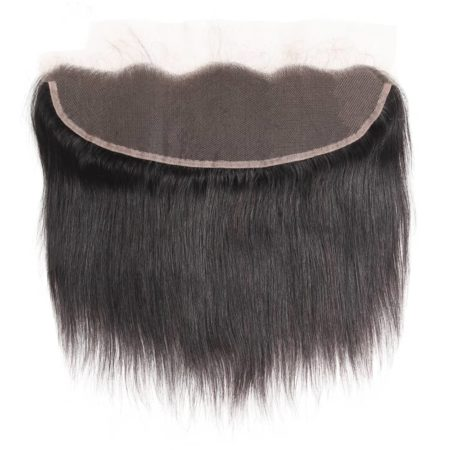 Peruvian Free Part Straight 13x4 Ear To Ear Pre Plucked Lace Frontal Closure (5)