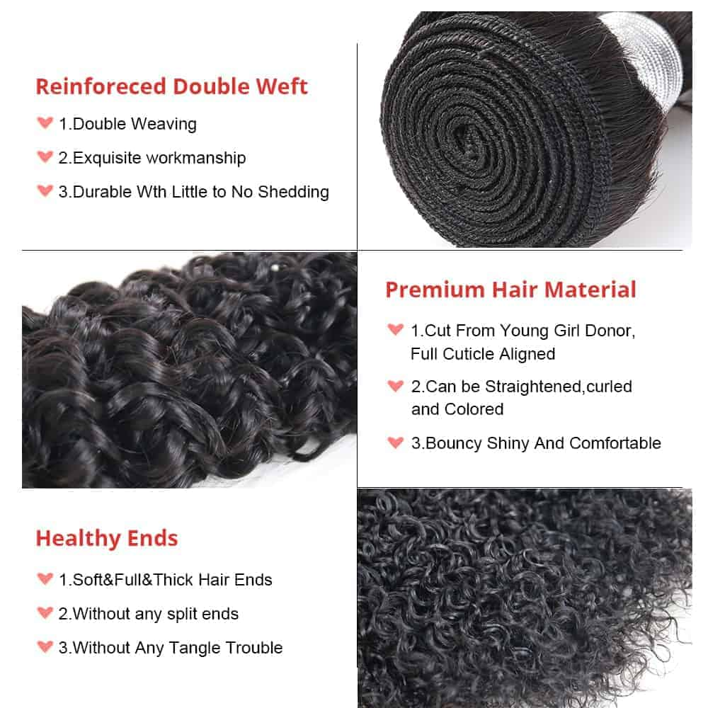 100% Human Brazilian Deep Curly Virgin Hair Weave 3 Bundles (1)