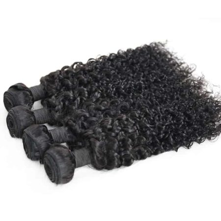 100% Human Brazilian Deep Curly Virgin Hair Weave 3 Bundles (4)