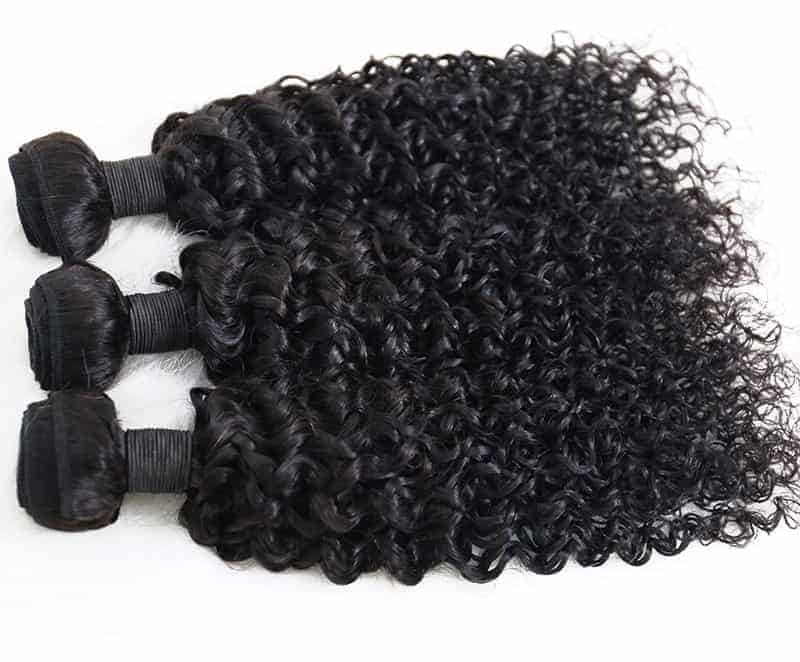 100% Human Brazilian Deep Curly Virgin Hair Weave 3 Bundles (6)