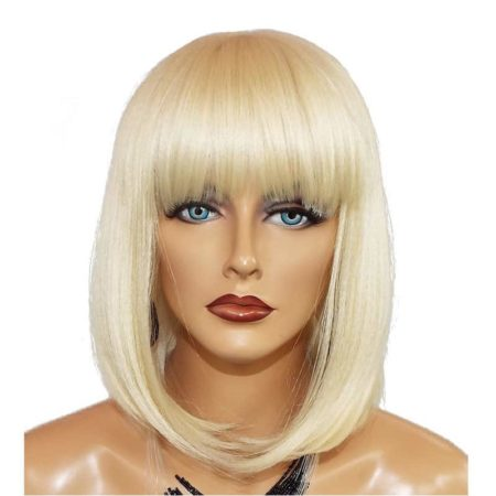 613 Blonde Lace Front Short Bob Blunt Wigs With Bangs (6)