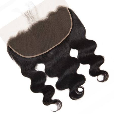 Brazilian 13x6 Body Wave Lace Frontal With Baby Hair Natural Color (5)