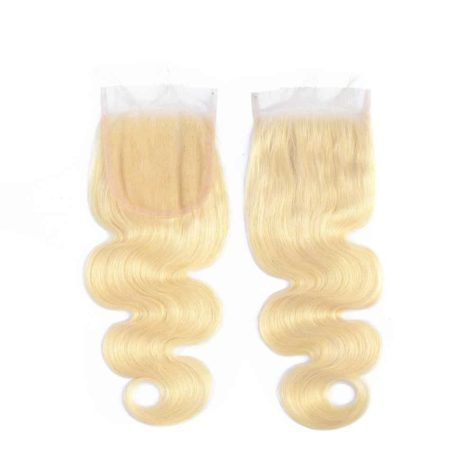 Brazilian Body Wave Ombre 613 Lace Closure 100% Human Hair (2)