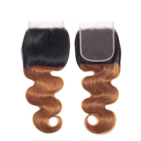 Brazilian Body Wave Ombre 613 Lace Closure 100% Human Hair (3)