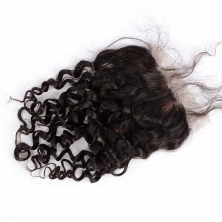 Brazilian Deep Curly 5x5 Silk Base Lace Closure With Baby Hair Bleached Knots (5)