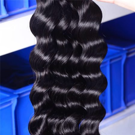 Brazilian Human Remy Loose Wave 26-28 Inch Hair Weave Bundles (3)