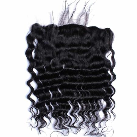 Brazilian Loose Wave Silk Base 13x4 Lace Frontal Closure For Women Natural (2)