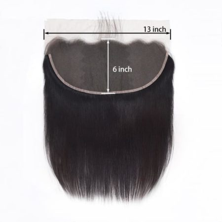 Brazilian Straight Ear to Ear 13x6 Lace Frontal Pre Plucked With Baby Hair (1)