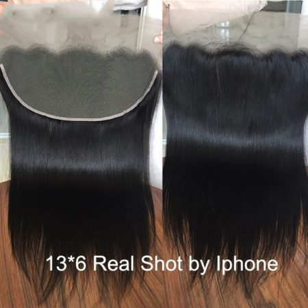 Brazilian Straight Ear to Ear 13x6 Lace Frontal Pre Plucked With Baby Hair (2)