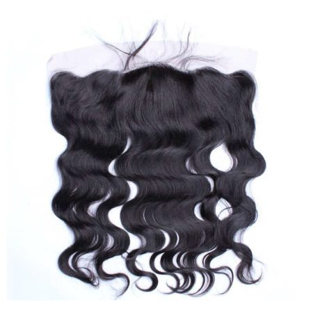 Brazilian Virgin Hair Body Wave Silk Base 13x4 Lace Frontal Pre Plucked With Baby Hair Free Part (1)