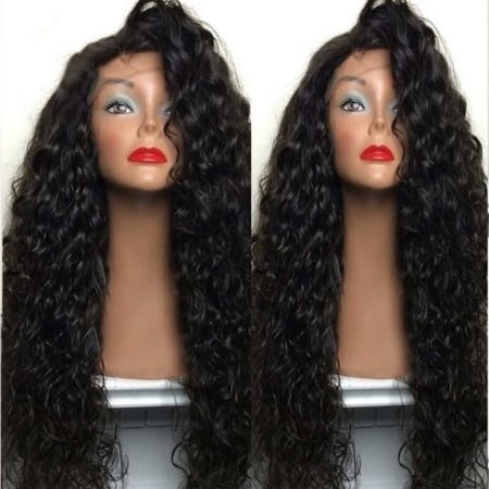 Brazilian Wet And Wavy Human Hair 150% Density Lace Front Wigs With Baby Hair (2)