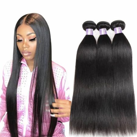Filipino 100% Human Hair Straight Hair Weave Bundles (1)