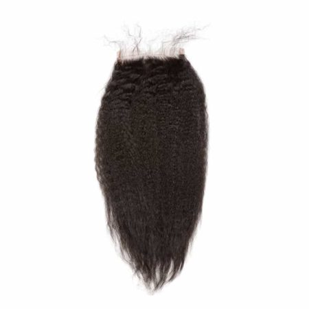 Free Part Malaysian 4x4 Silk Base Closure Kinky Straight Hair (5)