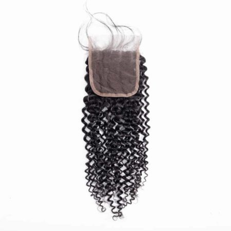Human Kinky Curly 4X4 Free Part Swiss Closure 8-20 inch (2)