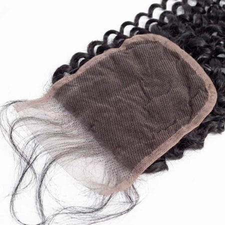 Human Kinky Curly 4X4 Free Part Swiss Closure 8-20 inch (4)