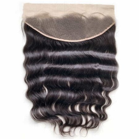 Human Raw Indian Hair Lace Frontal Closure Natural Colour (4)