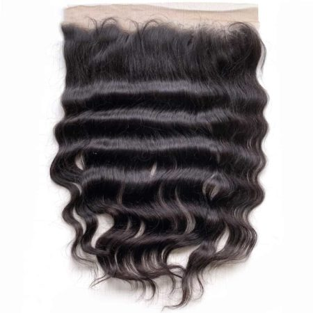 Human Raw Indian Hair Lace Frontal Closure Natural Colour (6)
