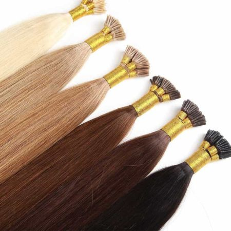 Keratin Silky straight 1g per S Pre Bonded I Tip Hair Extension (3)