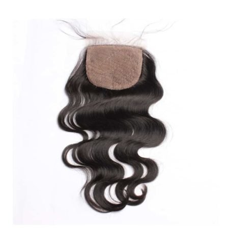 Malaysian Silk Base Lace Closure with baby hair Body Wave Pre Plucked With Baby Hair (1)