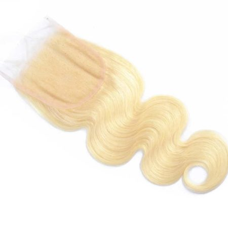 Peruvian 613 Blonde Human Body Wave 3 Bundles Hair With Closure (3)