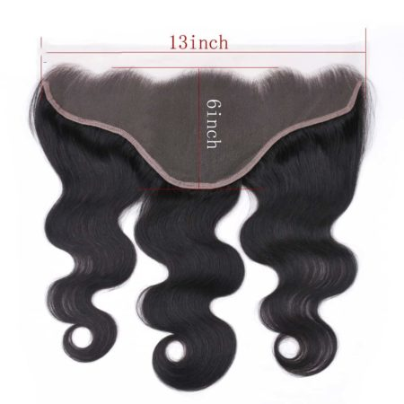 Peruvian Body Wave Ear to Ear 13x6 Lace Frontal Closure With Baby Hair Free Part 6-24inch (5)