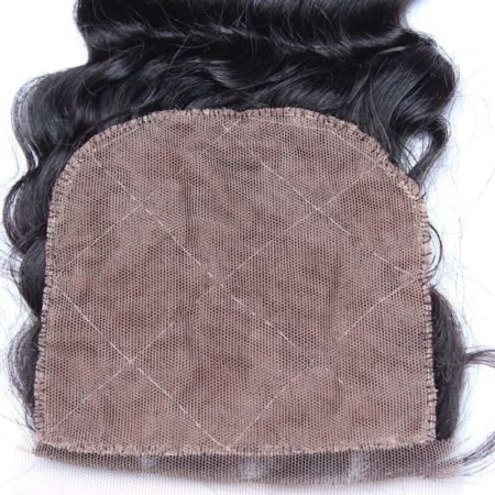 Peruvian Deep Wave Silk Top Base Closure 130% Density Pre Plucked With Baby Hair Hidden Knots (4)