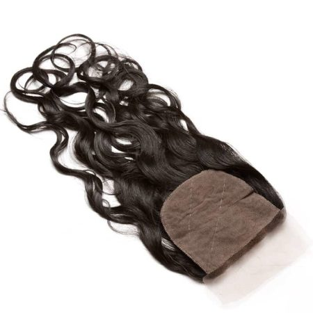 Peruvian Silk Base Closure 100% Wet And Wavy Human Hair With Baby Hair Hidden Knots (5)