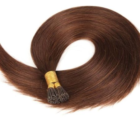 Silky Straight Pre Bonded Fusion 1gStrands I Tip Keratin Remy Human Hair Extension (1)