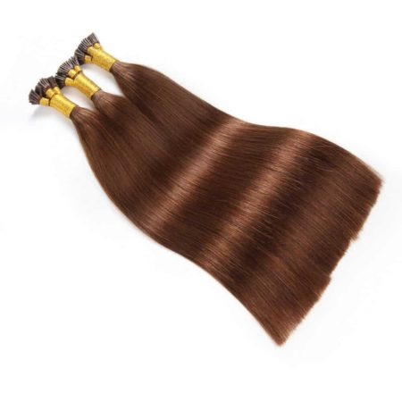 Silky Straight Pre Bonded Fusion 1gStrands I Tip Keratin Remy Human Hair Extension (6)