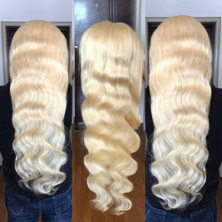 613 Lace Front Wig Brazilian 4X4 Body Wave Human Hair Pre-Plucked With Baby Hair (2)