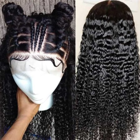 Brazilian Human 13x6 Deep Curly Lace Front Hair Wigs For Black Women (4)