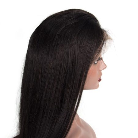 Brazilian Straight Pre Plucked Lace Front Human Hair Wigs With Baby Hair Bleached Knots (5)