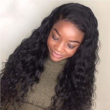Brazilian Wet And Wavy Human Hair 150% Density Lace Front Wigs With Baby Hair (3)