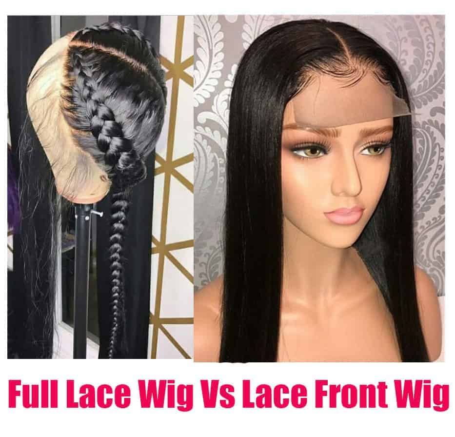 Full Lace Wig Vs Lace Front Wig - Which One