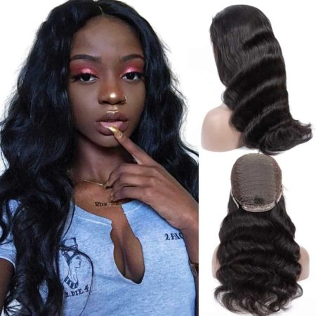 Lace Front Wigs 100 Indian Remy Human Body Wave Hair With Baby Hair (5)