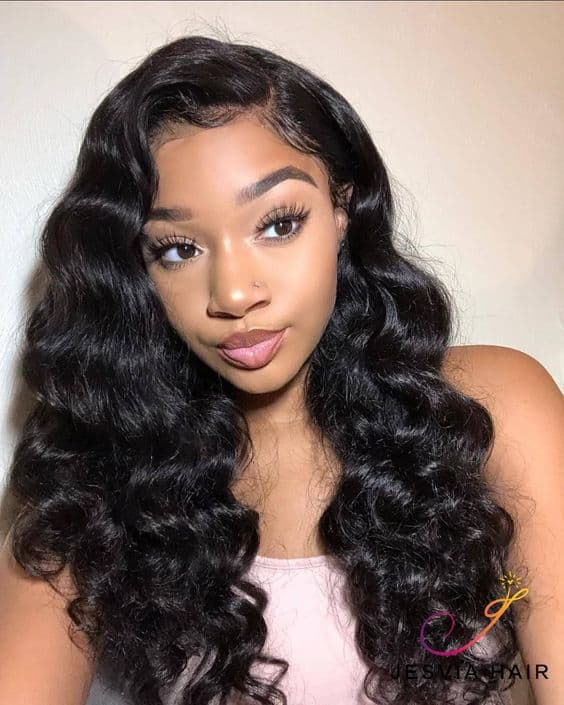 Loose wave weave style